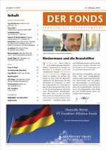 DER FONDS aktuelle Ausgabe