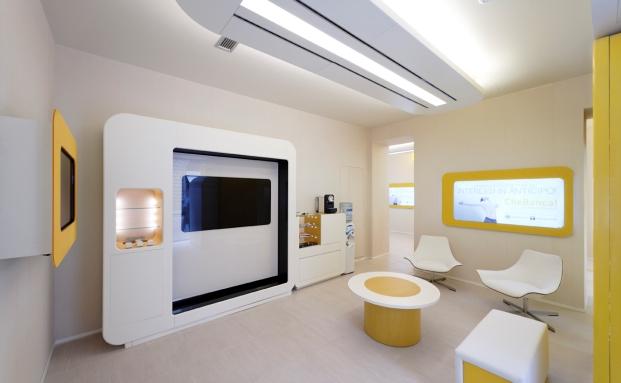 Die bankfiliale der zukunft das investment for Innenraumdesign studieren