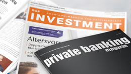 Print: private banking magazin und DAS INVESTMENT