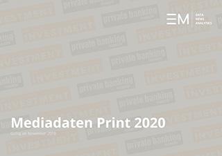 Rate Card/ Mediadaten 2020 Print