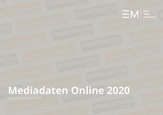 Rate Card/ Mediadaten 2020 Online