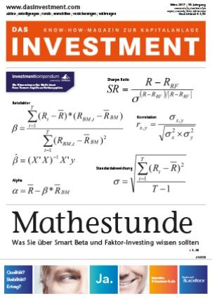 DAS INVESTMENT - Know-how-Magazin zur Kapitalanlage