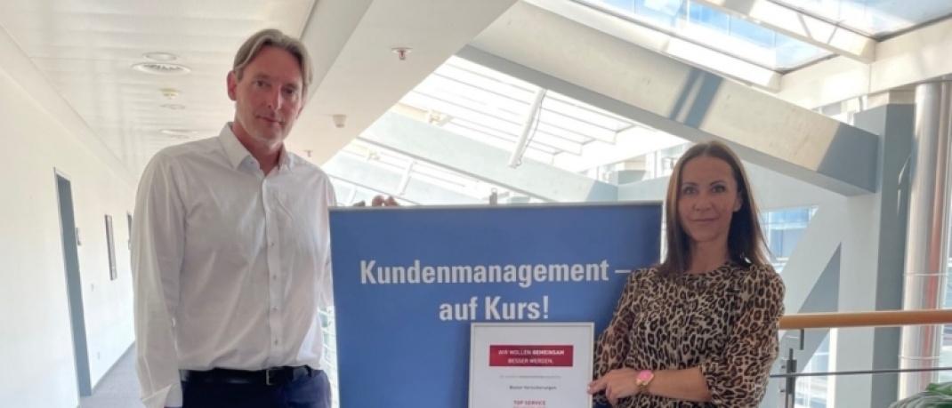 Matthias Siemers und Alwine Xenos, Basler Versicherungen