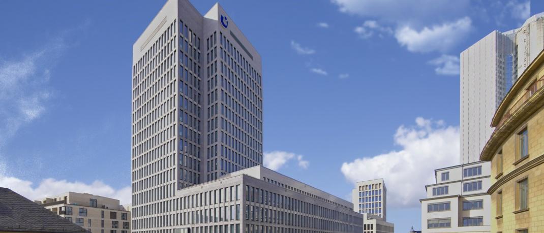 Gebäude von Union Investment in Frankfurt