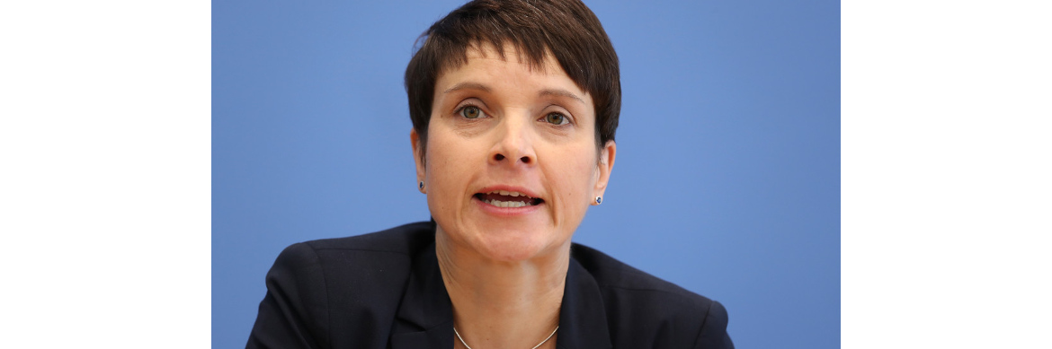 Platz 12	von 12: Frauke Petry	(AfD) | © Getty Images
