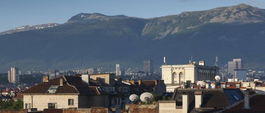 Häuser in Sofia: Bulgaren haben mit 75 Jahren innerhalb der EU die niedrigste Lebenserwartung.