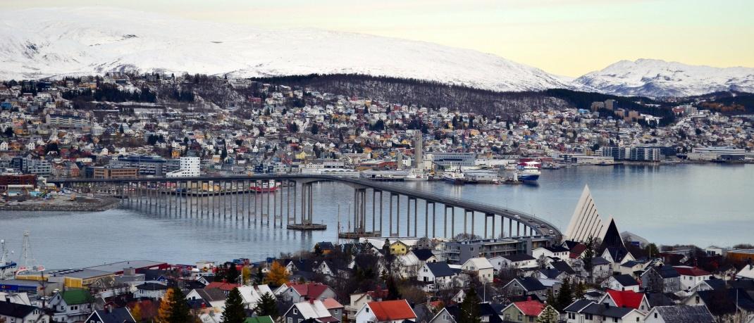 Blick auf die Stadt Tromsø: Norwegen unterhält einen Staatsfonds, um Renten zu finanzieren.