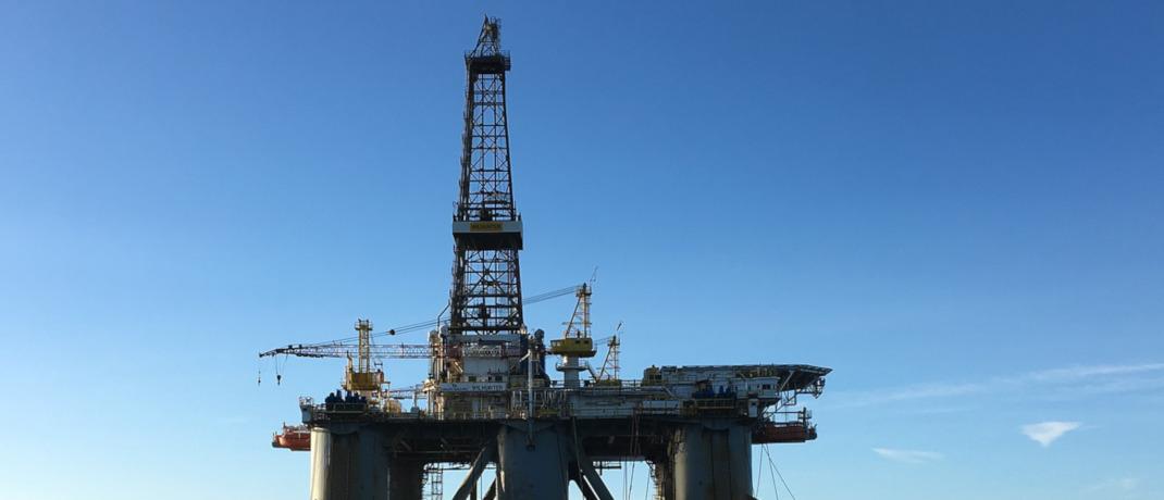 Ölplatform vor Schottland