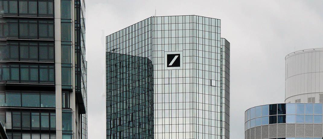 Hauptgebäude der Deutsche Bank AG