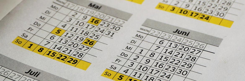 Kalender: Unseriöse Anbieter versuchen, Kunden zu einem schnellen Vertragsabschluss zu bewegen.