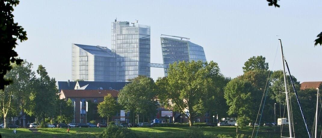 Die LVM-Türme in Münster