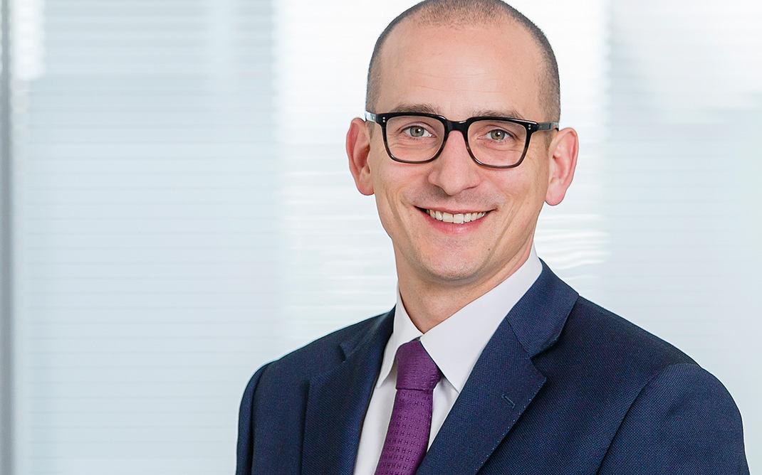 Henrik Pontzen, Leiter der Abteilung ESG im Portfoliomanagement der Union Investment