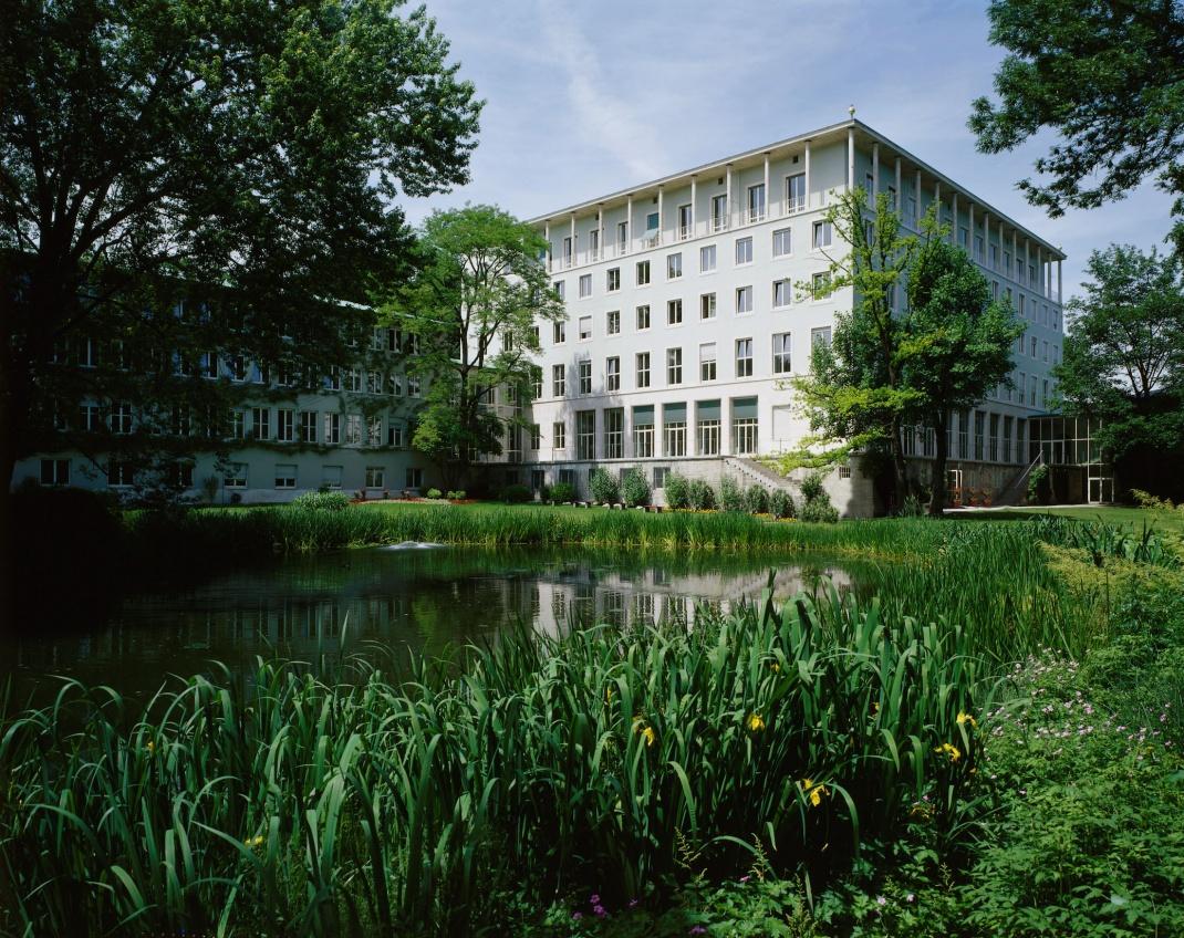 Hauptgebäude der Allianz in München