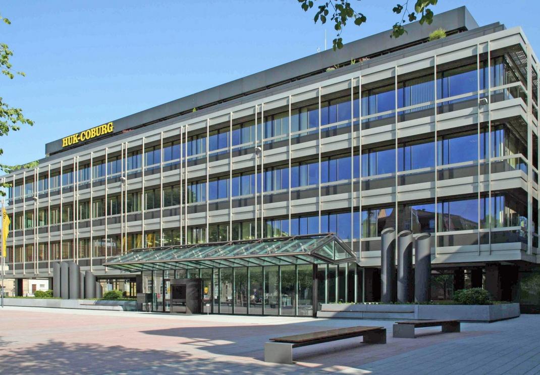Das Huk-Coburg-Gebäude