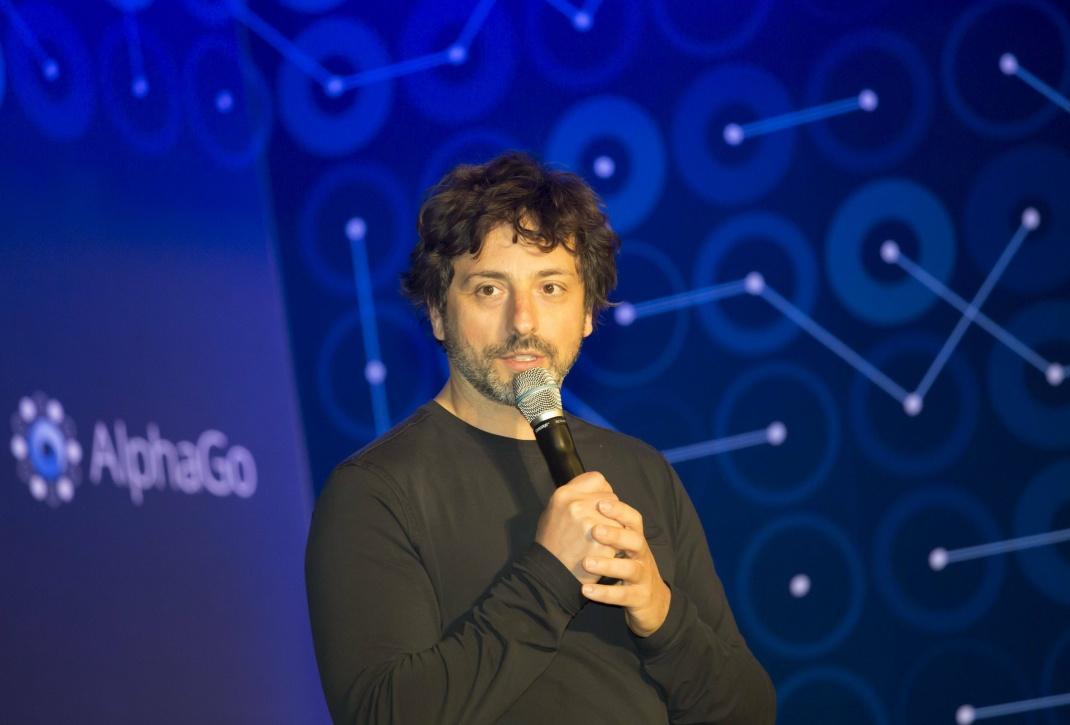 Sergey Brin bei einer Konferenz in Südkorea: Der Google-Mitgründer war bis Dezember 2019 Präsident des Konzerns Alphabet.
