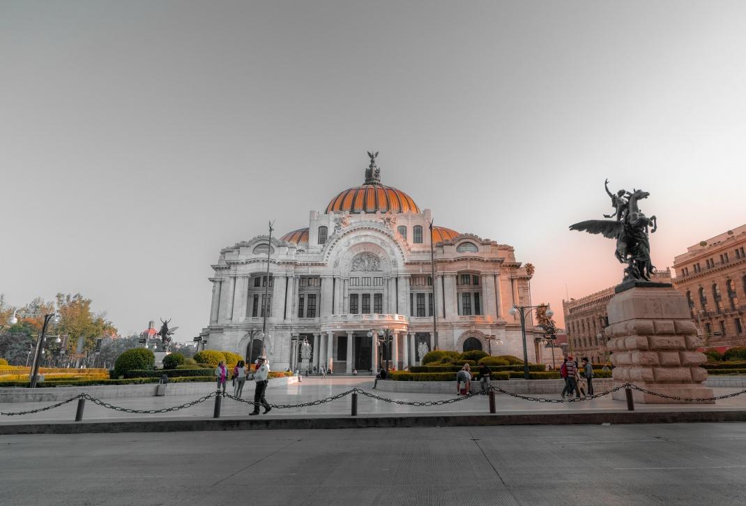 Palacio de Bellas Artes in Mexiko Stadt