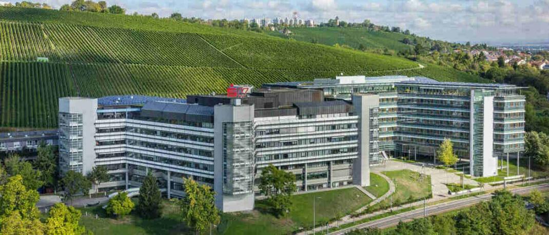 Gebäude der SV Sparkassen Versicherung aus Stuttgart