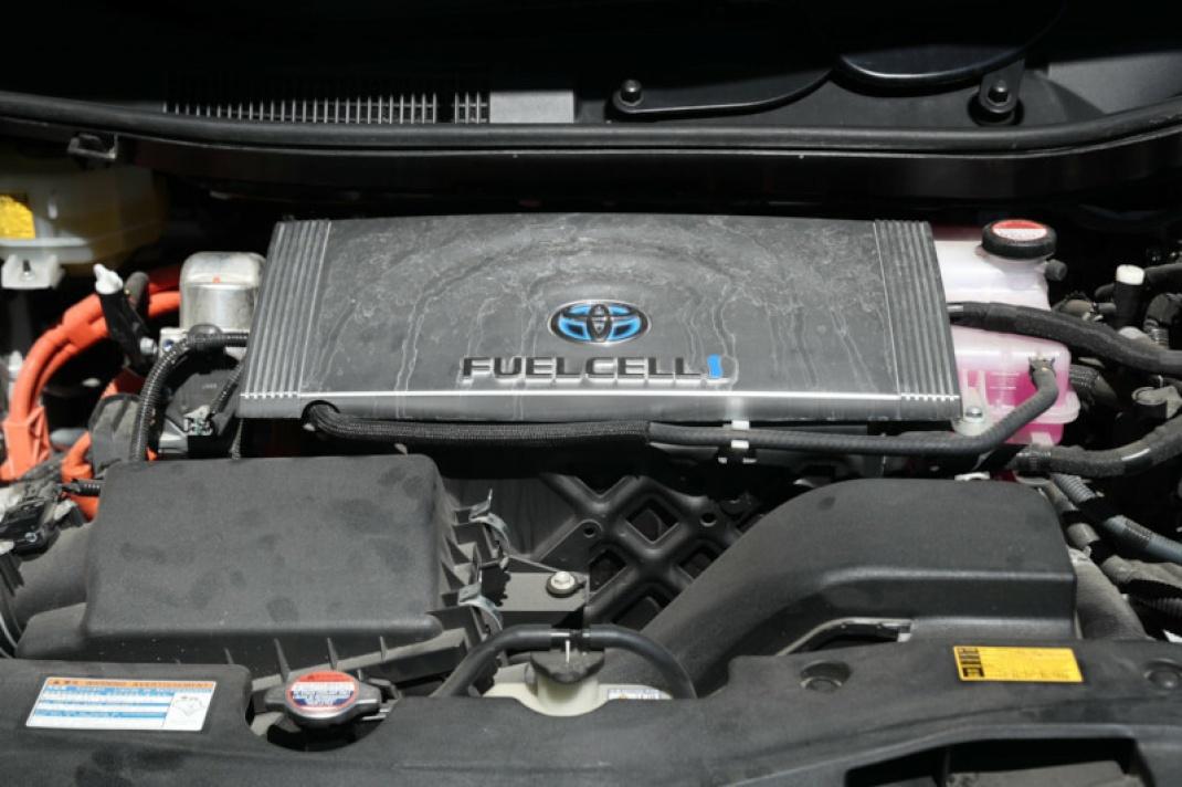 Brennstoffzelle in einem russischen Auto: Wasserstoff gilt als Energieträger der Zukunft.