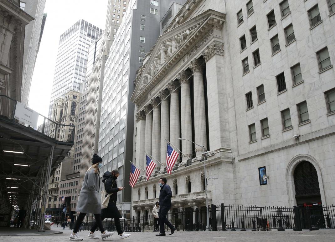 Börse in New York: Trotz Corona-Virus erzielten einige US-Firmen 2020 gute Ergebnisse. Der Online-Versandhändler Amazon beispielsweise erhielt in der Pandemie deutlich Schub.