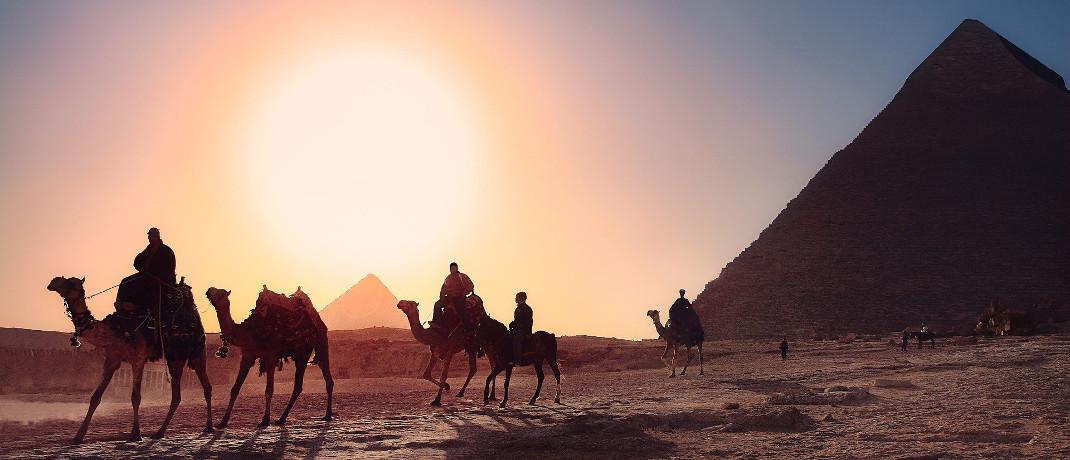 Pyramiden von Gizeh bei Kairo: Ägypten liegt auf Platz 9 der erfolgreichsten Aktienmärkte des vergangenen Jahres.