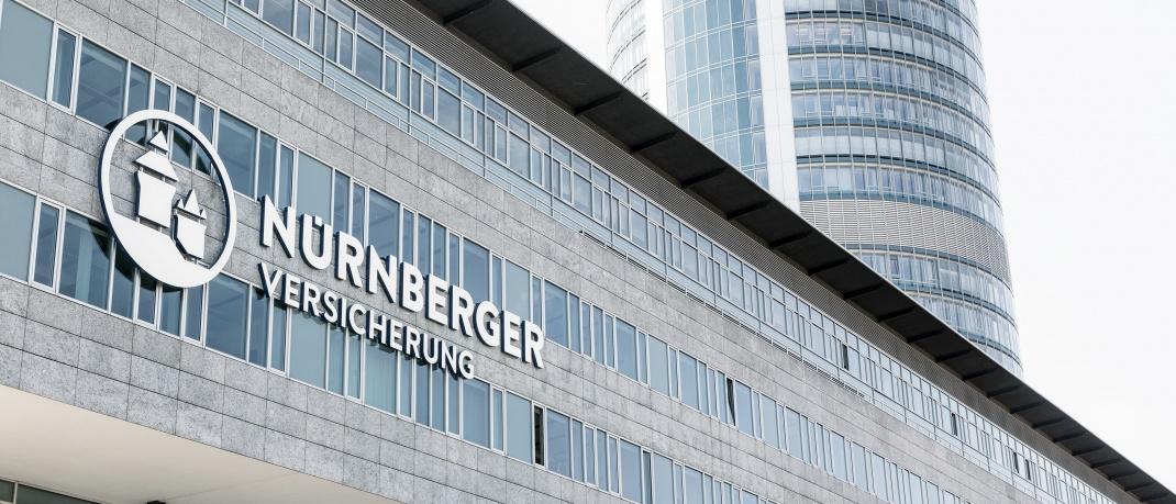 Fassade der Unternehmenszentrale in Nürnberg