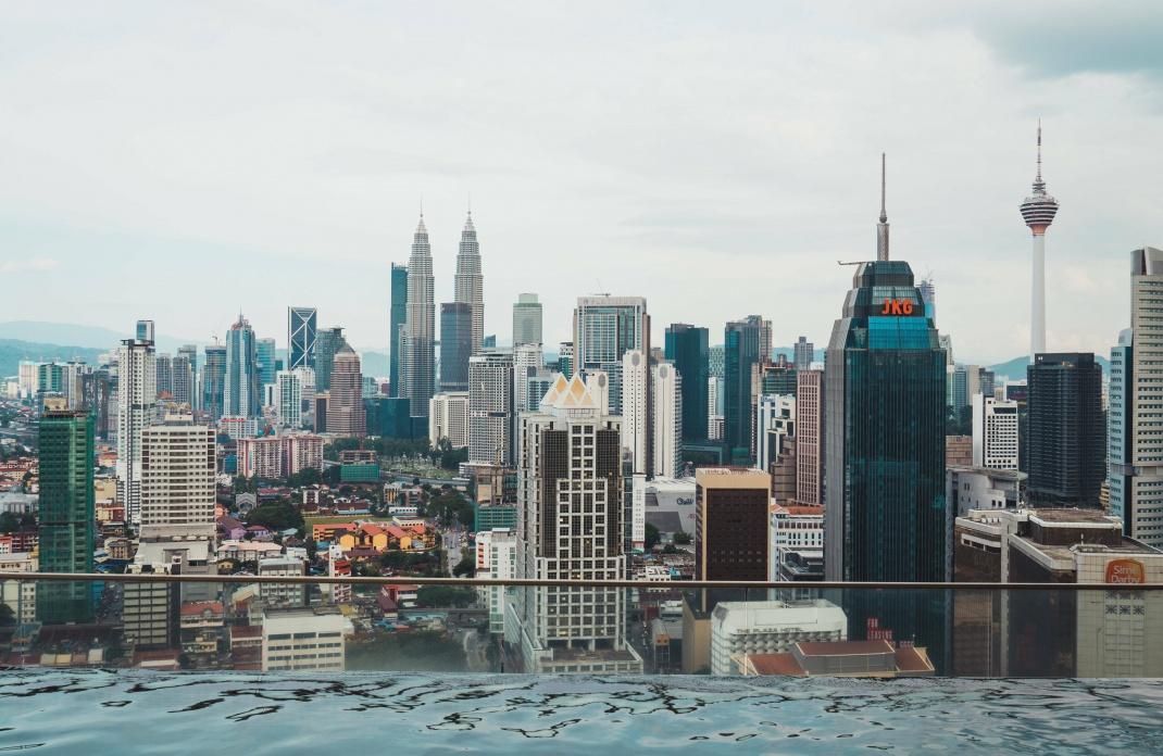 Blick auf die Skyline von Kuala Lumpur. In der malaysischen Hauptstadt hat die Bank Rakyat ihren Hauptsitz.