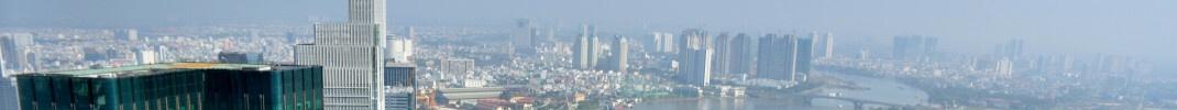 Skyline von Ho Chi Minh Stadt, Vietnam: Das Land gilt in der Region Asien-Pazifik als besonders aussichtsreicher Schwellenmarkt.