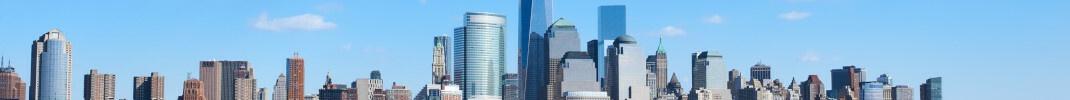 Skyline von New York: Aktuell größte Position im DJE Renten Global sind US-Staatsanleihen.