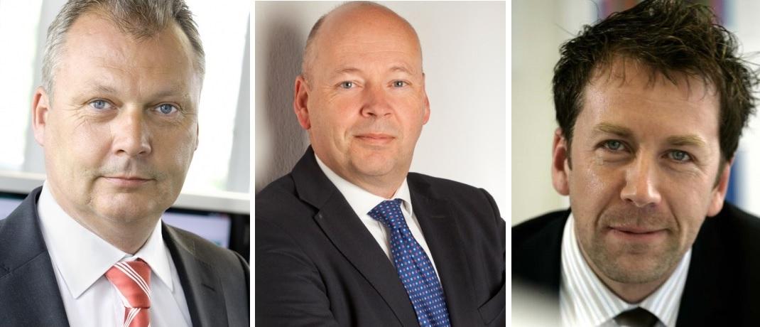 Von links: Peter Dreide, Michael Harbisch und Dirk Sammüller, die zusammen mit Thomas Einzmann den TBF Special Income verwalten.