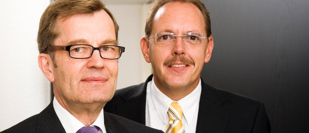Ernst Heemann (li.) und Ralf de Winder von der Heemann Vermögensverwaltung.