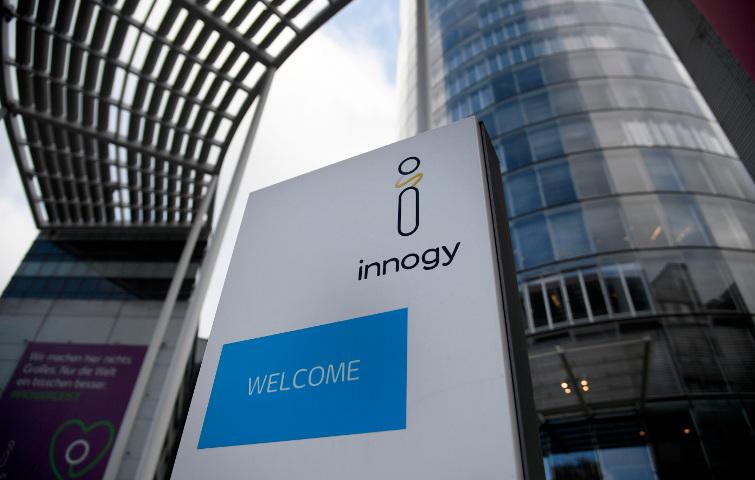 Hauptgebäude von Innogy in Essen: Für die E.ON-Tochter, die hauptsächlich Strom aus erneuerbaren Energien erzeugt, ging es einige Plätze hinab.