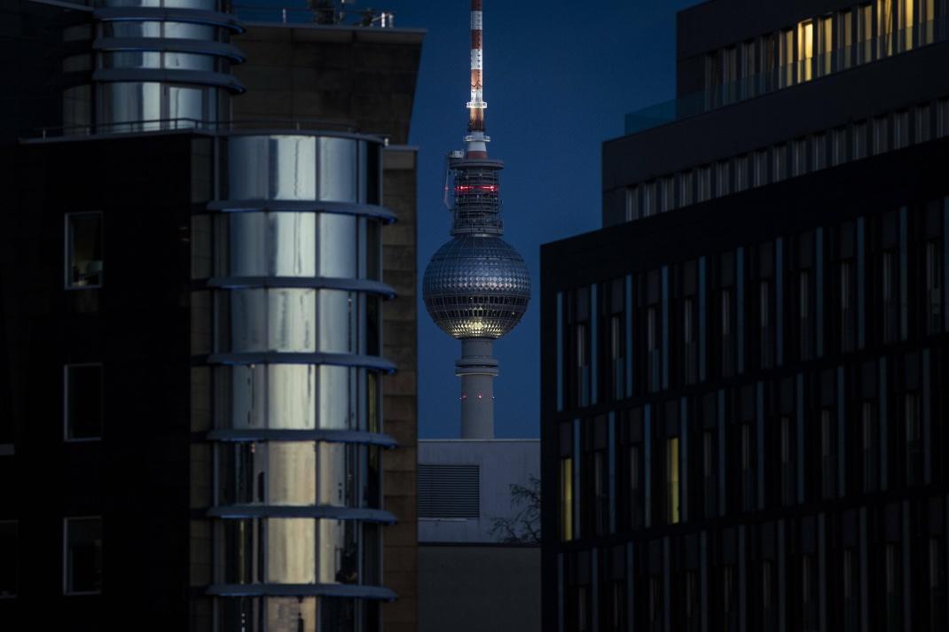Fernsehturm in Berlin.