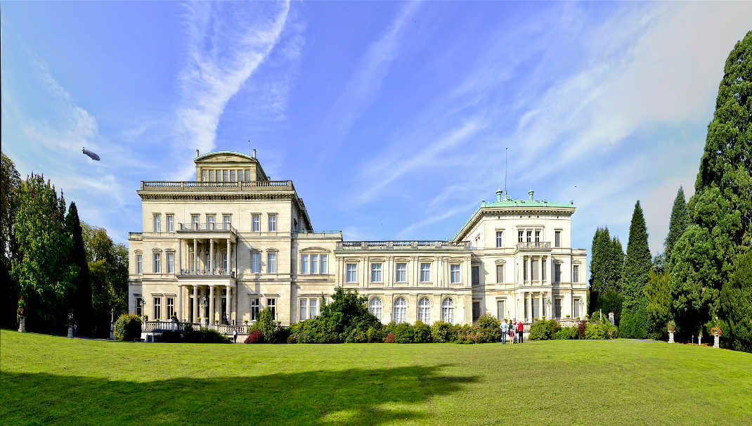 Villa Hügel, Symbol der Familiendynastie Krupp in Essen