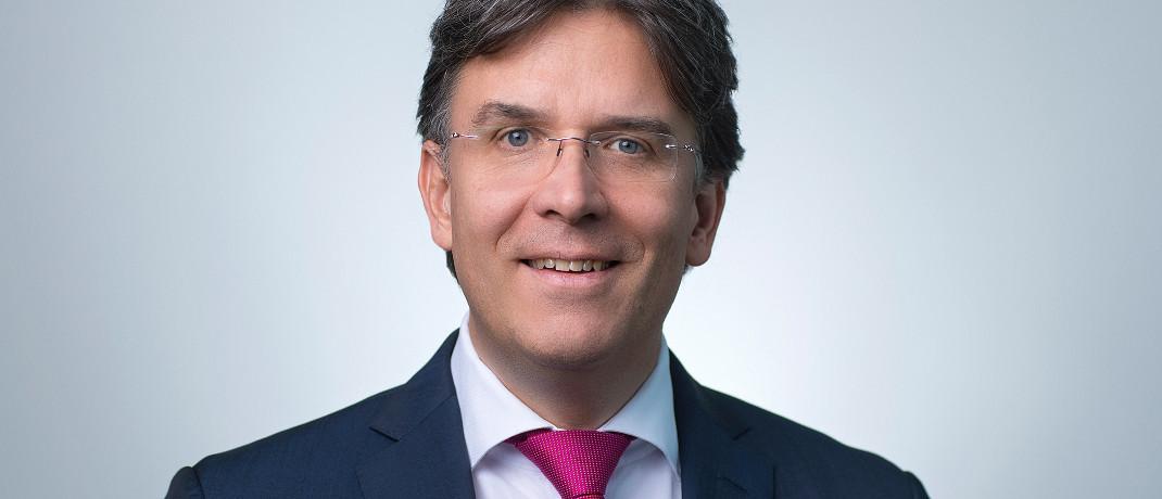 Frank Fischer managt den Frankfurter Aktienfonds für Stiftungen