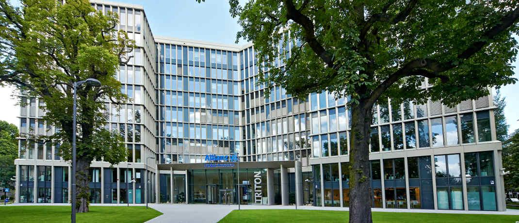 Gebäude von Allianz Global Investors in Frankfurt