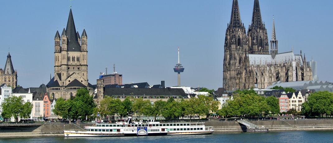 Kölner Dom: Der Bedarf an Neubauwohnungen ist seit 2016 noch nicht mal zur Hälfte gedeckt, heißt es in einer Studie des Instituts der deutschen Wirtschaft.