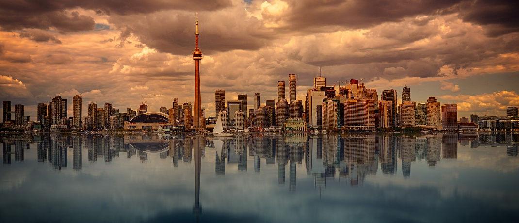 Skyline von Toronto: Kanada liegt mit 69,2 Punkte auf Platz 9.