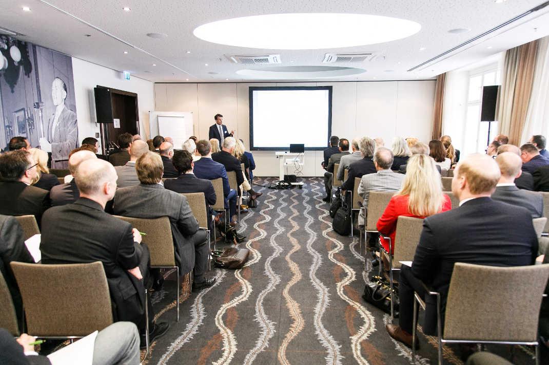 Rund 130 Kapitalmarktexperten waren der Einladung der Landesbank Baden-Württemberg ins Steigenberger Hotel Herrenhof nach Wien gefolgt. Das Forum fand zum siebten Mal statt.