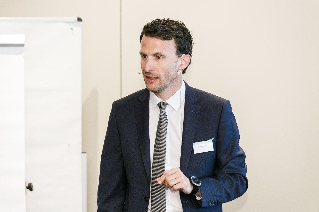 Rolf Schäffer, Leiter Strategy Research der LBBW, hielt den Eröffnungsvortrag und gab einen Überblick über die wichtigsten Kapitalmarktperspektiven für das laufende Jahr.