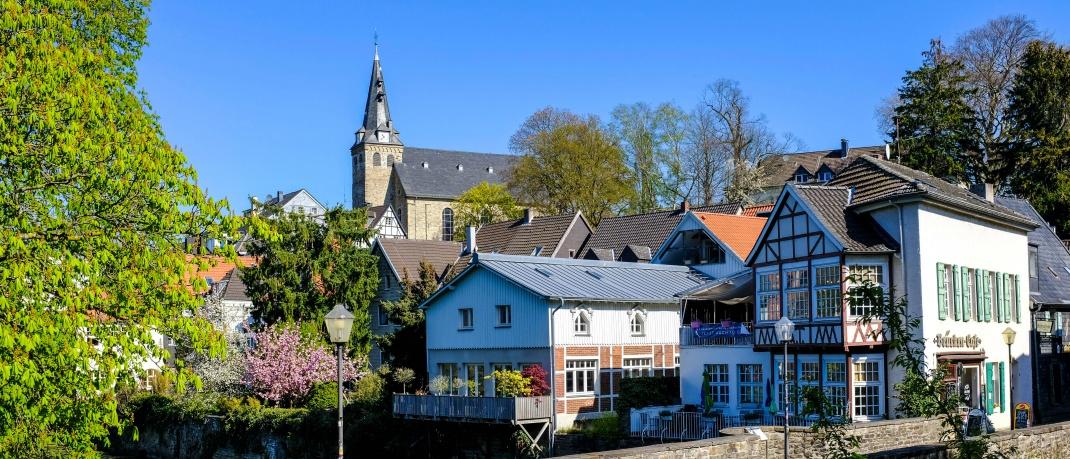 Straßenzug in Essen: Eine 4-Zimmer-Wohnung kostet im Schnitt 145.000 Eur0