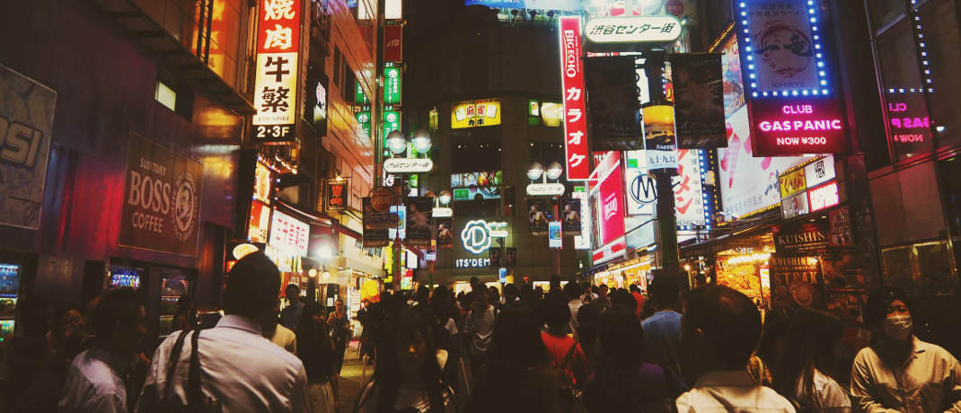 Tokio: In Japan dürfte es 2019 immer mehr Anzeichen für eine Erholung geben.
