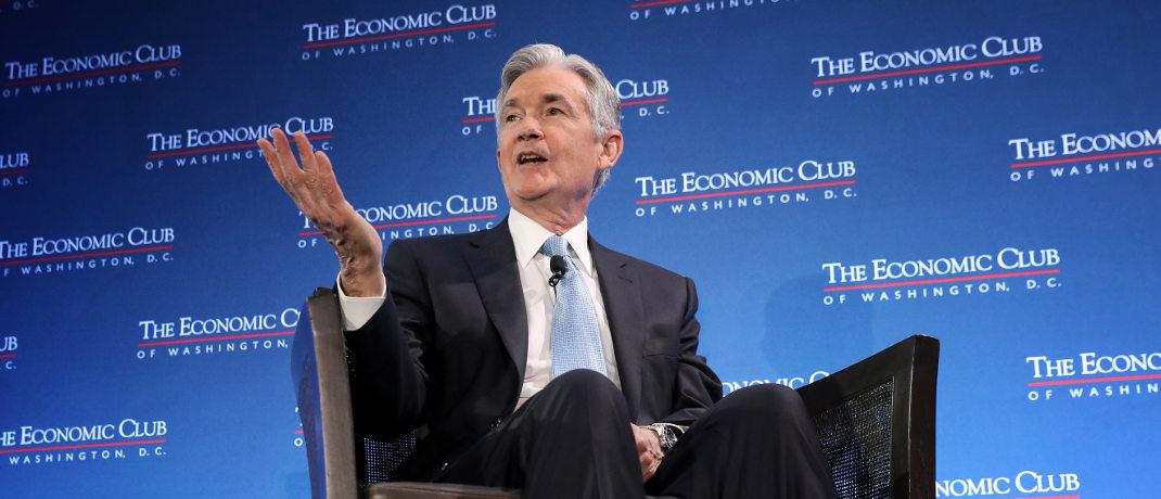 Jerome Powell: Der Chairman des Federal Reserve Board hat mit seiner Zinspolitik zuletzt für Verärgerung bei US-Präsident Donald Trump gesorgt.