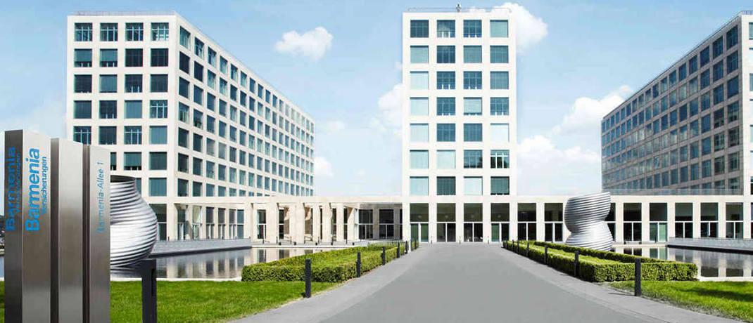 Hauptgebäude der Barmenia Versicherungen in Wuppertal.