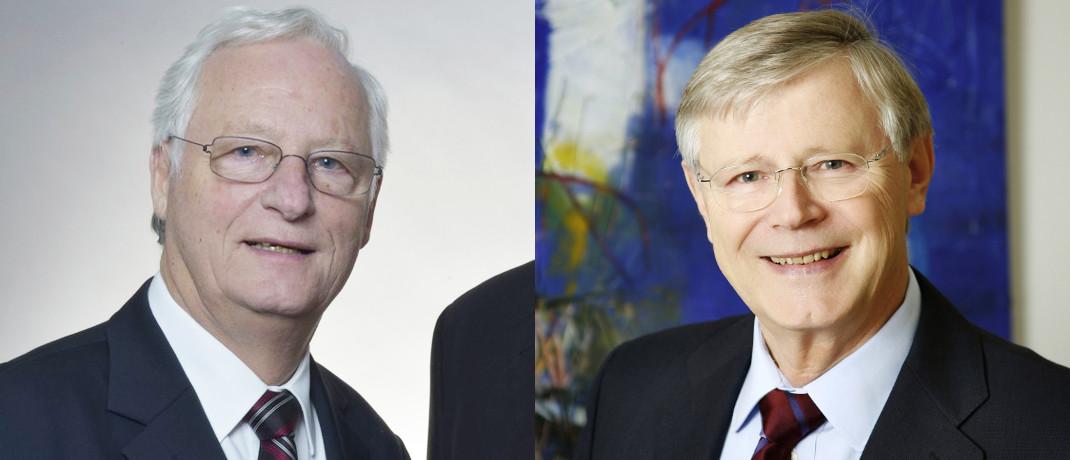 Hans John (l.) und Manfred Brenneisen