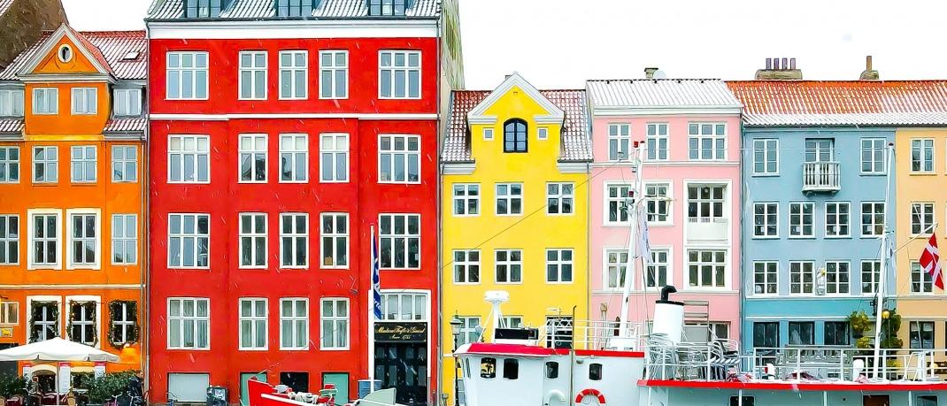 Der Nyhavn - der zentrale Hafen in Kopenhagen
