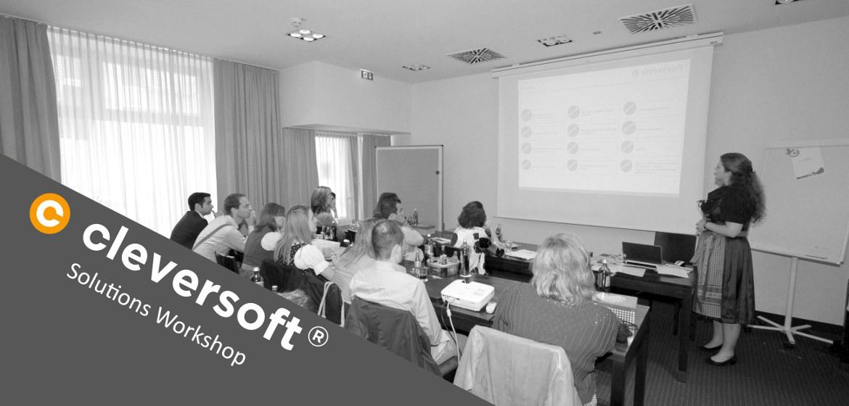 Teilnehmer des Workshops der Cleversoft Group.