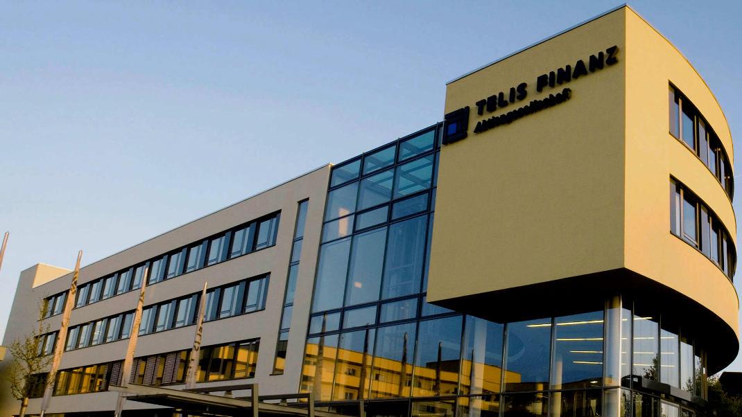 Zentrale der Telis Finanz in Regensburg: Rang 3 mit 34,6 Prozent treuen Kunden.