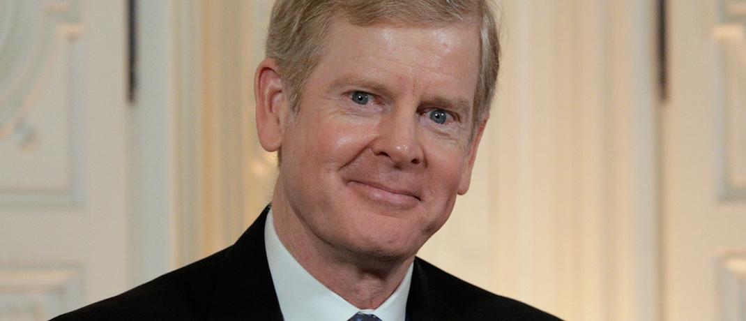 David Scott Taylor, Vorstand von Procter & Gamble, bei einer Konferenz in Paris.