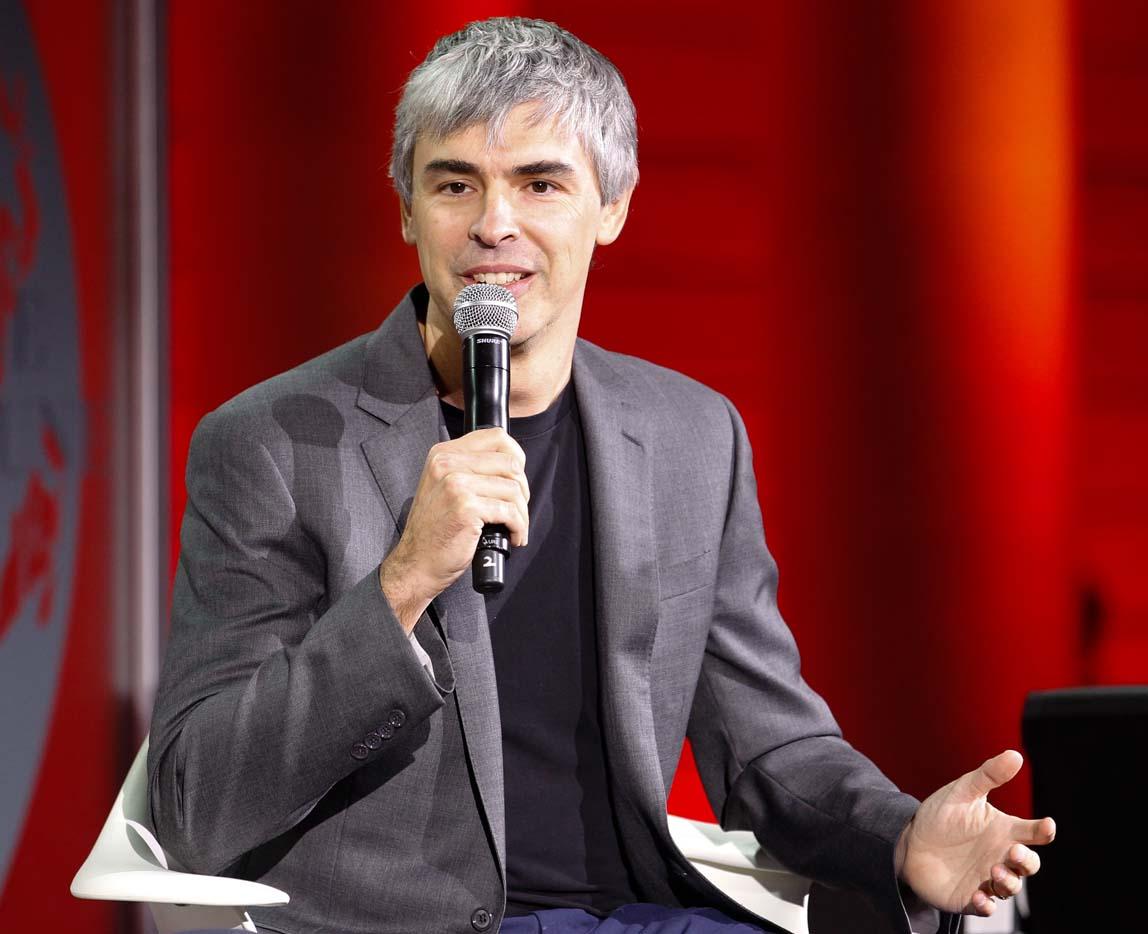 Larry Page ist seit 2015 Vorstand von Alphabet.
