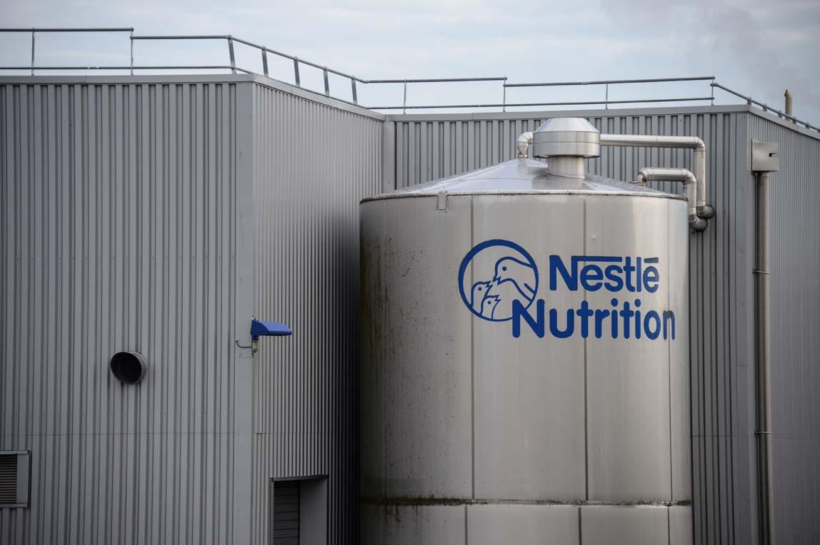 Produktionsstandort von Nestlé: Der Nahrungsmittelkonzern ist das größte Industrieunternehmen der Schweiz.